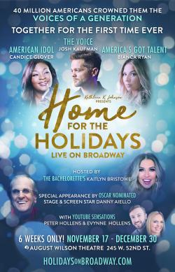 Tickets to see HOME FOR THE HOLIDAYS!