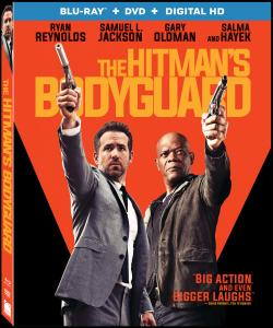 THE HITMAN'S BODYGUARD on Blu-ray!