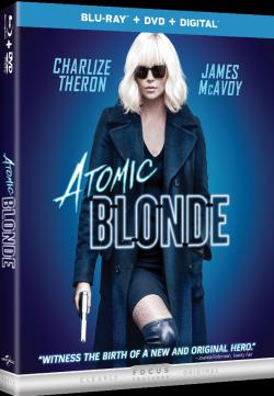 ATOMIC BLONDE on Blu-ray!