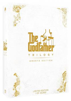 THE GODFATHER TRILOGY: OMERTÀ EDITION on Blu-ray!