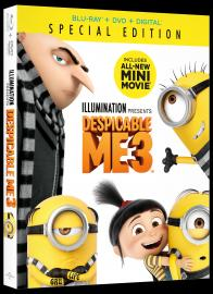 DESPICABLE ME 3 on Blu-ray!