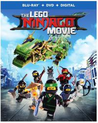 THE LEGO NINJAGO Movie on Blu-ray/DVD/Digital!