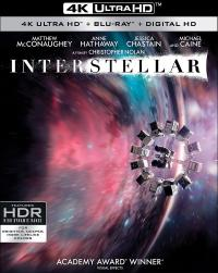 INTERSTELLAR 4K Ultra HD + Blu-ray + Digital!