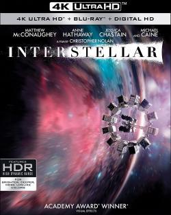 INTERSTELLAR 4K Ultra HD + Blu-ray + Digital!