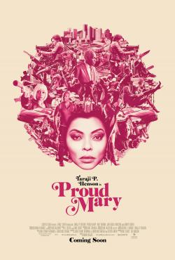 PROUD MARY Poster Autographed By Taraji P. Henson!