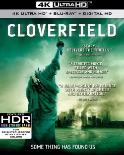 CLOVERFIELD/10 CLOVERFIELD LANE on 4K Ultra HD!