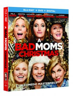 Enter to win a copy of A BAD MOMS CHRISTMAS on Blu-ray!