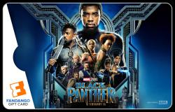 "Special Edition ""Black Panther"" Fandango Gift Card!"