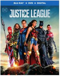JUSTICE LEAGUE on Blu-ray, DVD & Digital!
