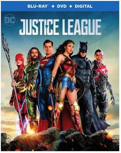 JUSTICE LEAGUE on Blu-ray, DVD & Digital!