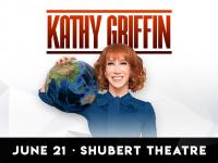 Win tickets to see Kathy Griffin at the Boch Center Shubert Theatre on June 21st at 8:00PM!