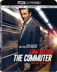 THE COMMUTER on Blu-ray!