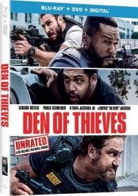 DEN OF THIEVES on Blu-ray!