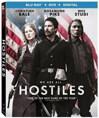 HOSTILES on Blu-ray!