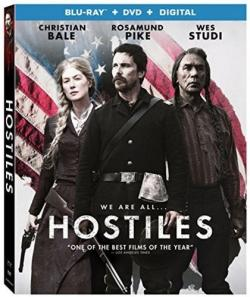 HOSTILES on Blu-ray!