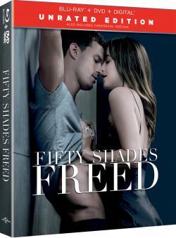 FIFTY SHADES FREED on Blu-ray, DVD + Digital!