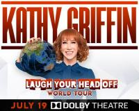 Win tickets to see Kathy Griffin at the Dolby Theatre on July 19!