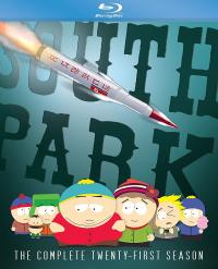 SOUTH PARK - The Complete Twenty-First Season on Blu-ray!