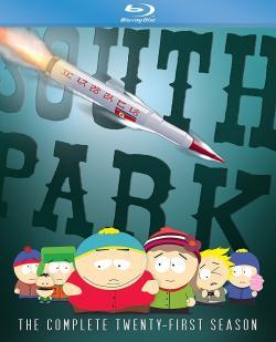 SOUTH PARK - The Complete Twenty-First Season on Blu-ray!