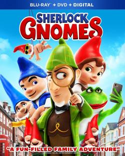 "Official ""SHERLOCK GNOMES"" Prize Package including Blu-ray, DVD, & Digital!"