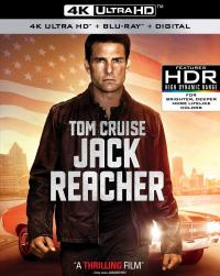 JACK REACHER on 4K Ultra HD, Blu-ray, & Digital!