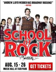 Tickets to see SCHOOL OF ROCK presented by Dallas Summer Musicals on August 15 at 7:30PM! :: Dallas