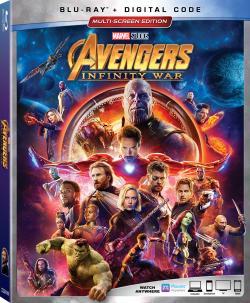 AVENGERS: INFINITY WAR on Blu-ray & Digital!
