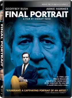 FINAL PORTRAIT on DVD!