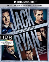 JACK RYAN COLLECTION on 4K Ultra HD/Blu-ray!