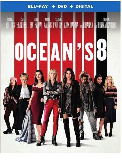OCEAN'S 8 on Blu-ray, DVD, and Digital!