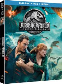 JURASSIC WORLD: FALLEN KINGDOM on Blu-ray, DVD, & Digital!