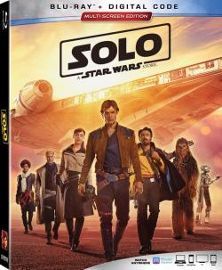 SOLO: A STAR WARS STORY on Blu-ray & Digital!