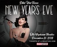 Tickets to Dita Von Teese's New Years Eve Gala at the Orpheum Theatre! :: Los Angeles