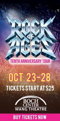 Tickets to see ROCK OF AGES at the Boch Center Wang Theatre on 10/24! :: Boston