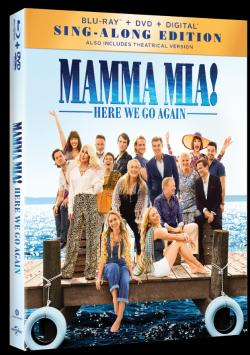 MAMMA MIA: HERE WE GO AGAIN on Blu-ray!