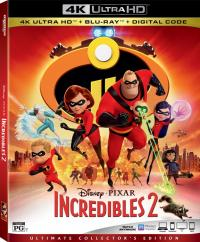 INCREDIBLES 2 on Blu-ray!