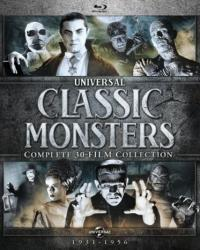 Universal Classic Monsters: Complete 30-Film Collection on Blu-ray!