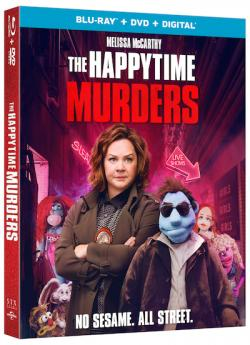 THE HAPPYTIME MURDERS on Blu-ray, DVD & Digital!