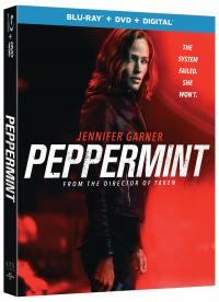 PEPPERMINT on Blu-ray, DVD, & Digital!