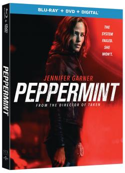 PEPPERMINT on Blu-ray, DVD, & Digital!