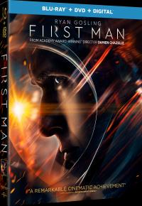 FIRST MAN on Blu-ray, DVD, & Digital!