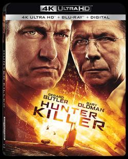 HUNTER KILLER on Blu-ray, DVD, & Digital!