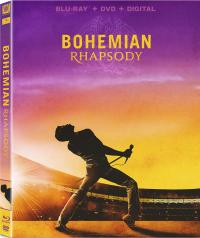 BOHEMIAN RHAPSODY on Blu-ray, DVD, & Digital!