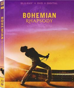BOHEMIAN RHAPSODY on Blu-ray, DVD, & Digital!