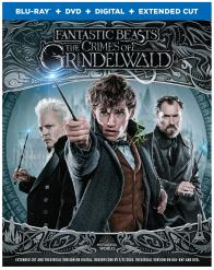 FANTASTIC BEASTS: THE CRIMES OF GRINDELWALD on Blu-ray, DVD, & Digital!