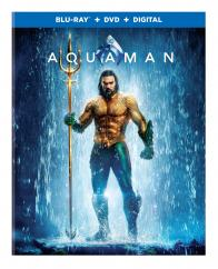 AQUAMAN on Blu-ray, DVD, & Digital!