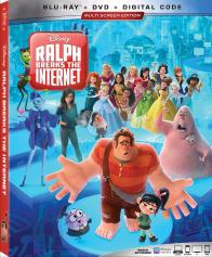 RALPH BREAKS THE INTERNET on Blu-ray, DVD, & Digital!