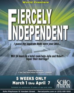 Tickets to see FIERCELY INDEPENDENT! :: New York City