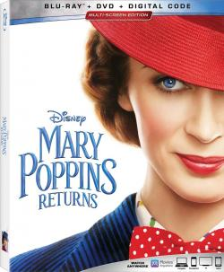 MARY POPPINS RETURNS on Blu-ray, DVD, & Digital!