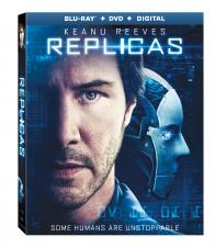 REPLICAS on Blu-ray, DVD, & Digital!